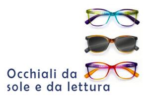 occhiali da sole e da lettura cotab